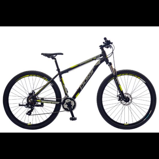 """Polar Mirage Sport SF 29"""" Férfi mountain bike fekete/szürke/fluo sárga"""