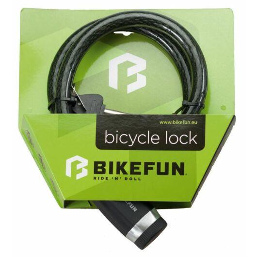 Bikefun Defender 18 kábelzár kulcsos 120 cm biztonsági szint 7