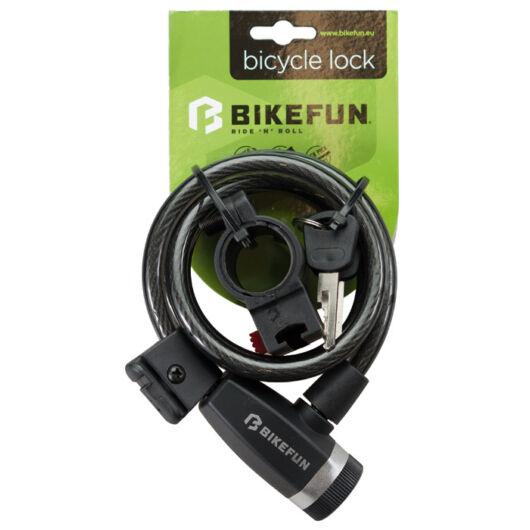 Bikefun Scutum kábelzár kulcsos 120 cm biztonsági szint 3