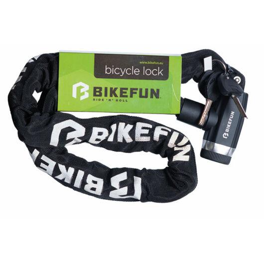 Bikefun Shield láncos kerékpár lakat kulcsos 120 cm biztonsági szint 8