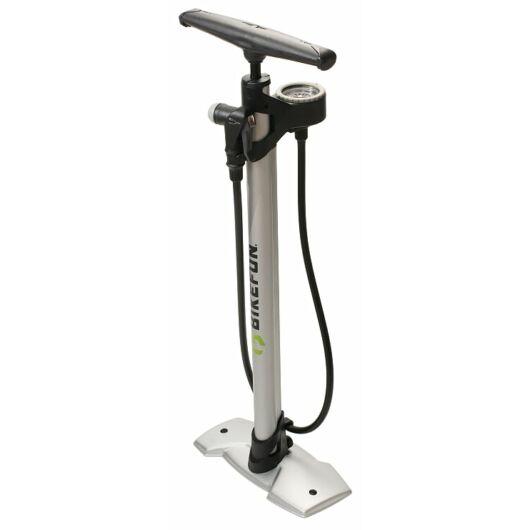 Bikefun Air Force Steel kerékpár pumpa nyomásmérővel