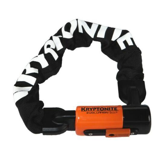 Kryptonite Evolution 4 1055 mini láncos kerékpár lakat világítós kulcsos 55 cm biztonsági szint 8