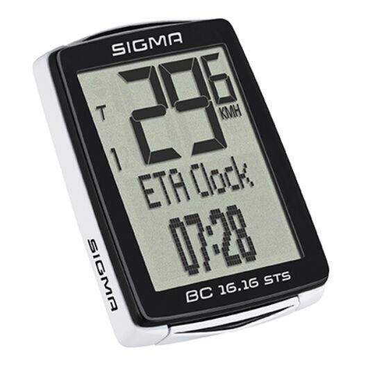 Sigma BC 16.16 vezetékes kerékpár computer