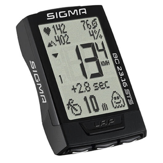 Sigma BC 23.16 STS SET vezeték nélküli kerékpár computer