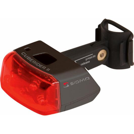 Sigma Cuberider II elemes kerékpár lámpa hátsó