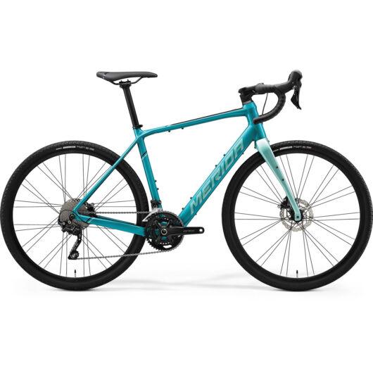 MERIDA kerékpár 2021 eSILEX 400 XL(56) ZÖLDESKÉK (VILÁGOS ZÖLDESKÉK/FEKETE)