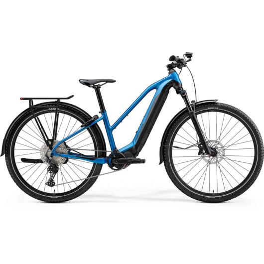 MERIDA kerékpár 2021 eBIG.TOUR 675 EQ L(48) SELYEMKÉK/FEKETE