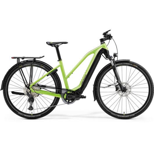 MERIDA kerékpár 2021 eSPRESSO 675 EQ NŐI S(47L) MATT ZÖLD/FEKETE