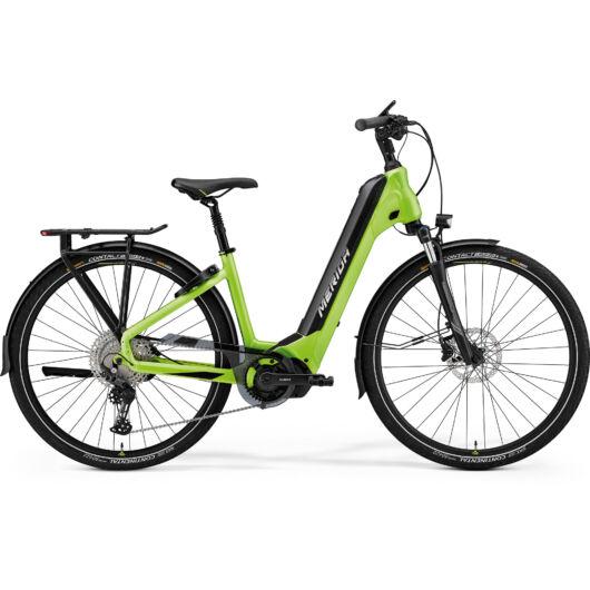 MERIDA kerékpár 2021 eSPRESSO CITY 675 EQ (38) MATT ZÖLD/FEKETE