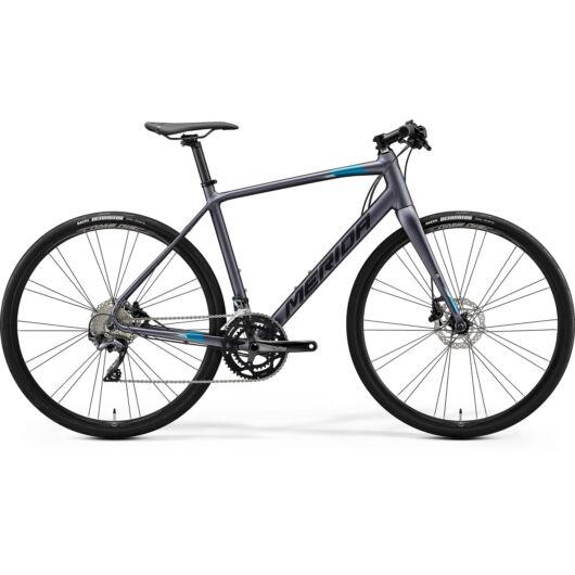 MERIDA kerékpár 2021 SPEEDER 500 MATT ANTRACIT(KÉK/FEKETE)