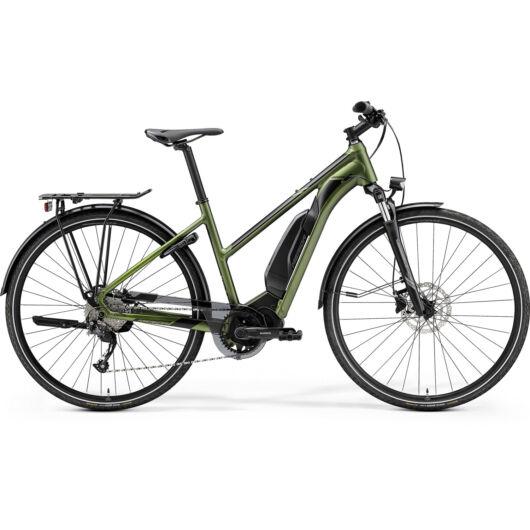 MERIDA kerékpár 2021 eSPRESSO 300SE EQ NŐI 504Wh 504Wh S (47L) SELYEMZÖLD(FEKETE)