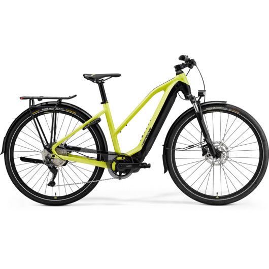 MERIDA kerékpár 2021 eSPRESSO 500 EQ NŐI (43L) SELYEM LIME/FEKETE