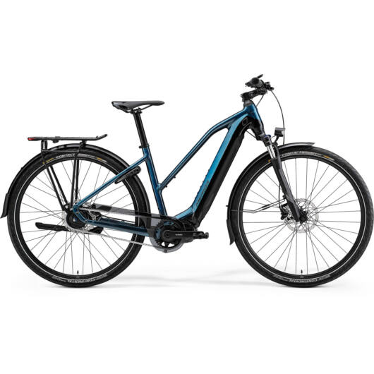 MERIDA kerékpár 2021 eSPRESSO 700 EQ NŐI (47L) ZÖLDESKÉK KÉK/FEKETE