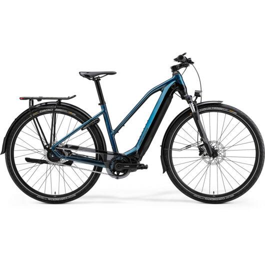 MERIDA kerékpár 2021 eSPRESSO 700 EQ NŐI (51L) ZÖLDESKÉK KÉK/FEKETE