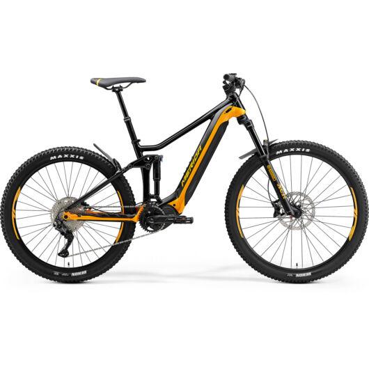 MERIDA kerékpár 2021 eONE-FORTY 400 FEKETE/NARANCS
