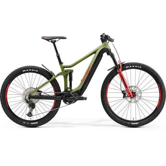 MERIDA kerékpár 2021 eONE-FORTY 500 MATT ZÖLD/FEKETE(PIROS)