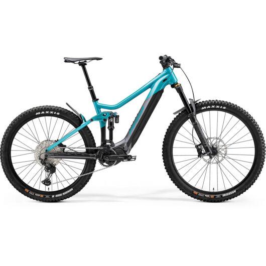 MERIDA kerékpár 2021 eONE-SIXTY 700 FÉNYES MET. ZÖLDESKÉK/ANTRACIT