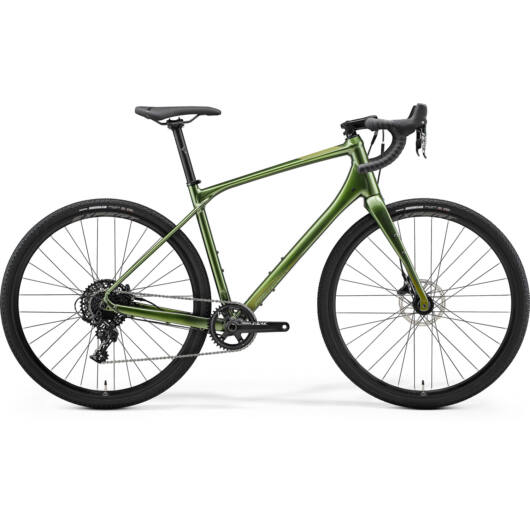MERIDA kerékpár 2021 SILEX 600 ZÖLD(MATT ZÖLD)