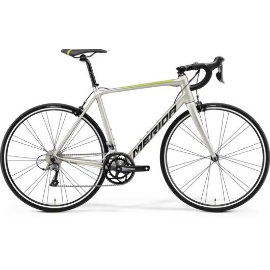 MERIDA kerékpár 2021 SCULTURA RIM 100 SELYEM TITÁN(FEKETE/ZÖLD)