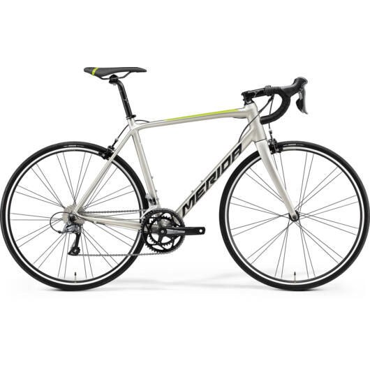 MERIDA kerékpár 2021 SCULTURA RIM 100 (59) SELYEM TITÁN(FEKETE/ZÖLD)