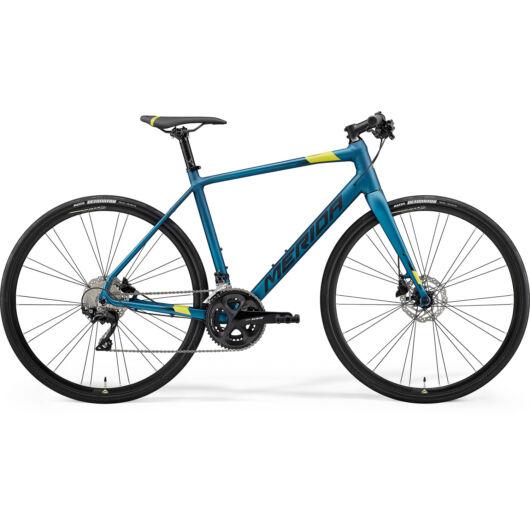 MERIDA kerékpár 2021 SPEEDER 400 SELYEM ZÖLDESKÉK(LIME/FEKETE)