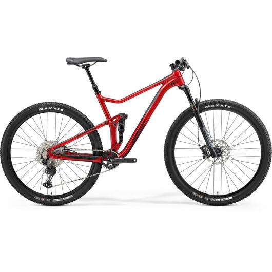 MERIDA kerékpár 2021 ONE-TWENTY RC XT-ED (16) FÉNYES PIROS (MATT FEKETE)