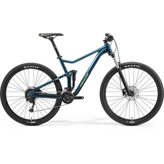 MERIDA kerékpár 2021 ONE-TWENTY RC 300 (17.5) ZÖLDESKÉK-KÉK(LIME)