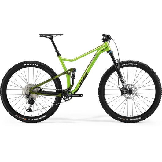 MERIDA kerékpár 2021 ONE-TWENTY 700 ZÖLD/SÖTÉTZÖLD