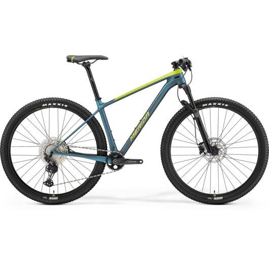 MERIDA kerékpár 2021 BIG NINE 3000 SELYEM LIME/ZÖLDESKÉK-KÉK