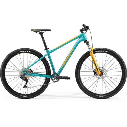 MERIDA kerékpár 2021 BIG.NINE 200 ZÖLDESKÉK-KÉK (NARANCS)