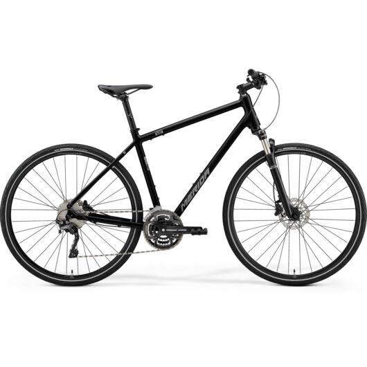 MERIDA kerékpár 2021 CROSSWAY 500 FEKETE(MATT EZÜST)