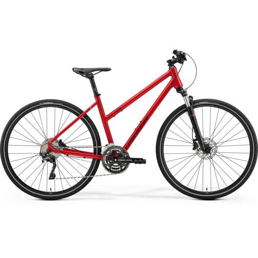 MERIDA kerékpár 2021 CROSSWAY 500 NŐI BORDÓ/PIROS