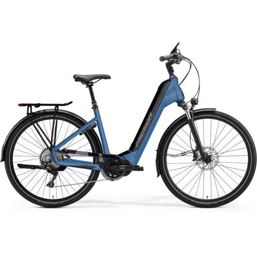 MERIDA kerékpár 2021 eSPRESSO CITY 400 EQ (43) SELYEMKÉK(FEKETE)