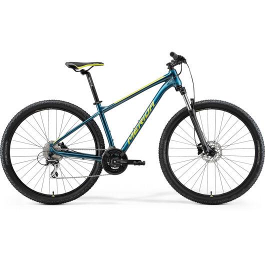 MERIDA kerékpár 2021 BIG NINE 20 ZÖLDESKÉK-KÉK(LIME)