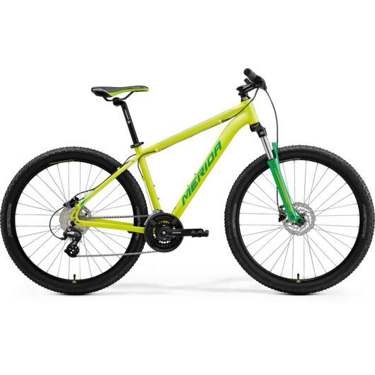 MERIDA kerékpár 2021 BIG SEVEN 15 SELYEM LIME(ZÖLD)