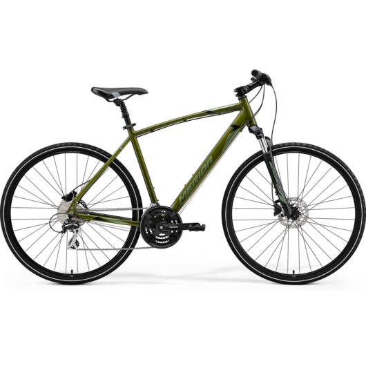 MERIDA kerékpár 2021 CROSSWAY 20 MOHAZÖLD(EZÜST-ZÖLD/FEKETE) M/L (52)