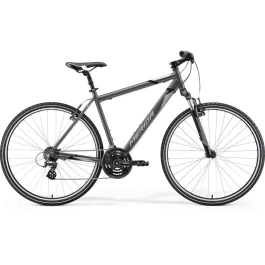 MERIDA kerékpár 2021 CROSSWAY 10-V SELYEM ANTRACIT(SZÜRKE/FEKETE)