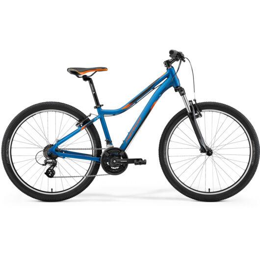 MERIDA kerékpár 2021 MATTS 6 10-V SELYEMKÉK(NARANCS)