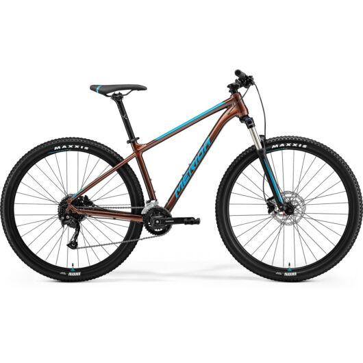 MERIDA kerékpár 2021 BIG NINE 100-2X (18.5) BRONZ(KÉK)
