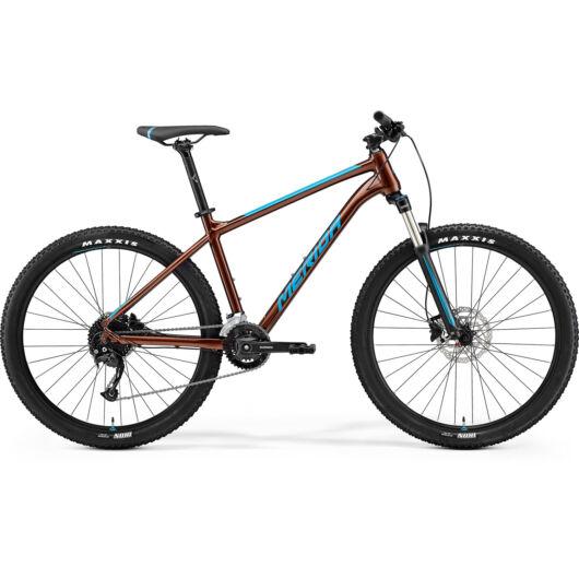 MERIDA kerékpár 2021 BIG SEVEN 100-2X (13.5) BRONZ(KÉK)