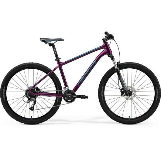 MERIDA kerékpár 2021 BIG SEVEN 60-2X LILA(ZÖLDESKÉK-KÉK)