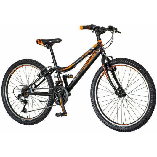 Explorer Magnito 24 fiú fekete gyerek kerékpár