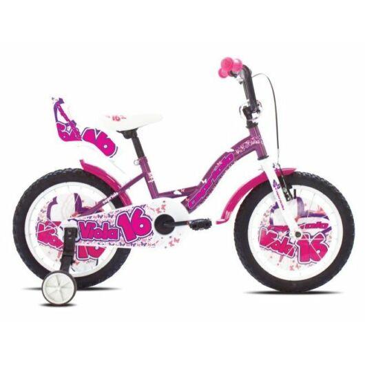 """Capriolo Viola gyerek bicikli 16"""" 2017"""