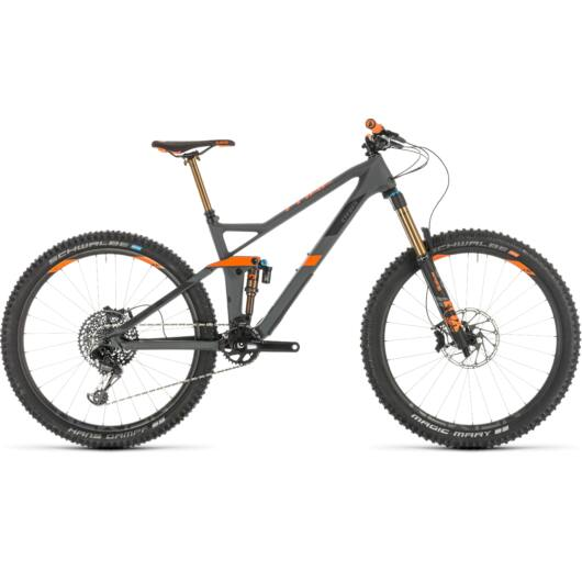 "Cube Stereo 140 HPC TM férfi mountain bike 27,5"" 2019"