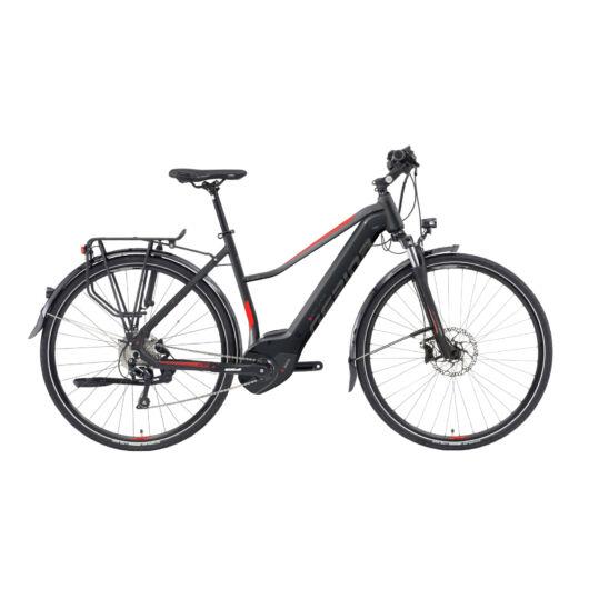 Gepida ALBOIN PRO 28'' Női Trekking Kerékpár 2019 Matt fekete 30192286-44A
