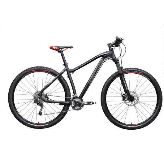 Gepida RUGA 29'' Férfi Mountain Bike Kerékpár 2020 Matt fekete 30200080-17A