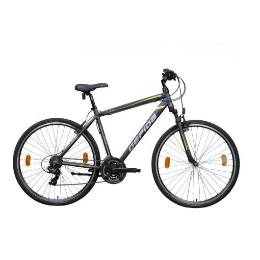 Gepida ALBOIN 200CRS 28'' Férfi Cross Kerékpár 2020 Matt grafit 30200210-48A
