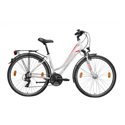 Gepida ALBOIN 200 28'' Női Trekking Kerékpár 2020 Fehér 30200 316-48A