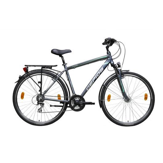 Gepida ALBOIN 200 28'' Férfi Trekking Kerékpár 2020 Matt grafit 30200 320-48A