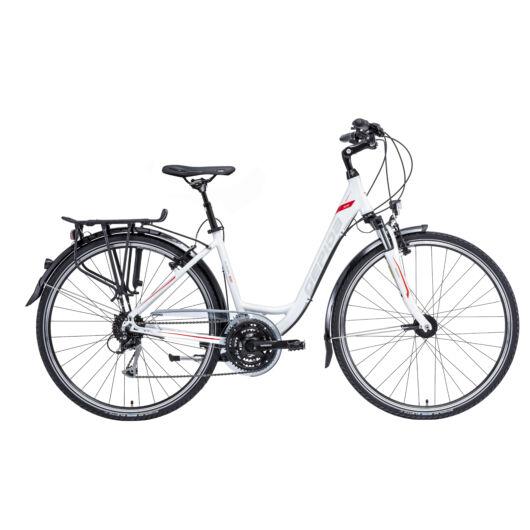 Gepida ALBOIN  300 28'' Női Trekking Kerékpár 2020 Gyöngyfehér 30200 3 35-45A